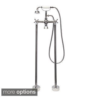 Dyconn Faucet Free-standing Bathtub Filler Faucet with Hand Shower