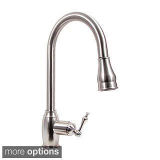Dyconn Faucet Dual Spray Pull Down Kitchen Faucet
