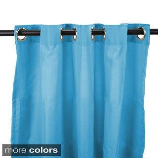 Jordan Manufacturing Indoor/ Outdoor 96-inch Solid Curtain Panel