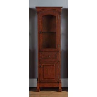 Brookfield Linen Warm Cherry Cabinet