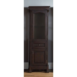 Brookfield Burnished Mahogany Linen Cabinet