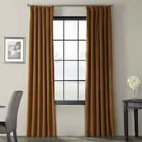 Exclusive Fabrics Signature Velvet 120-inch Blackout Curtain Panel - 50 x 120