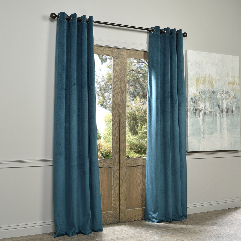 plum grommet bathroom curtains panels blue curtain ideas velvet majestic vintage