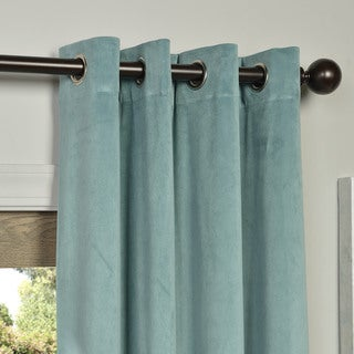 Green, Velvet, Insulated Curtains & Drapes - Shop The Best Deals ...