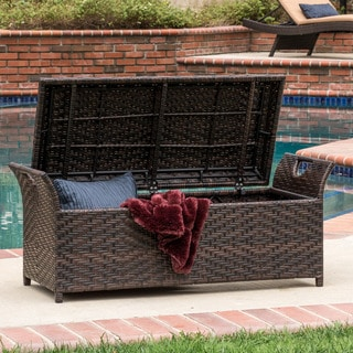 Link to Wing Outdoor Wicker Storage Bench by Christopher Knight Home Similar Items in Grills & Outdoor Cooking