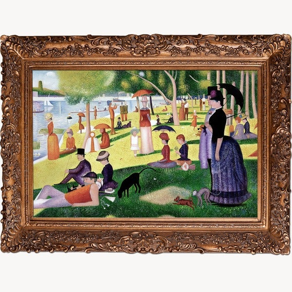 Georges Seurat 'Sunday Afternoon On The Island Of La
