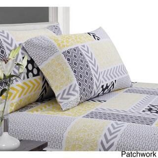 Luxury Deep Pocket Flannel Extra Deep Pocket Sheet Set with Oversize Flat