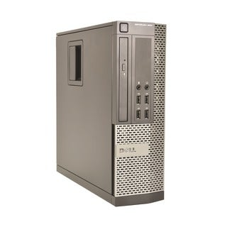 Dell Optiplex 990 Intel Core i3-2120 3.3GHz 2nd Gen CPU 4GB RAM 500GB HDD Windows 10 Home Small Form Factor Computer (Refurbis