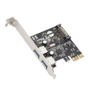 Syba 2-Port USB 3.0 PCI-Express Card Revision 1.0 Renesas Chipset With Full/ Low Profile Brackets