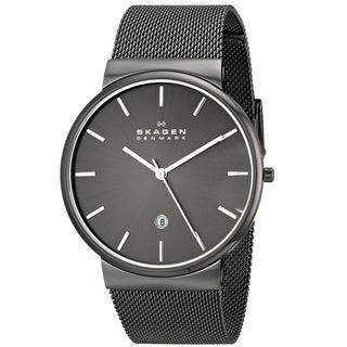 Skagen 'Ancher' Men's Gunmetal Ion Plated Stainless Steel SKW6108 Watch
