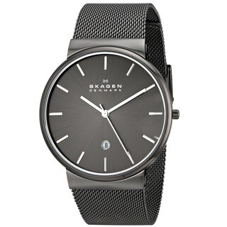 Skagen 'Ancher' Men's Gunmetal Ion Plated Stainless Steel SKW6108 Watch https://ak1.ostkcdn.com/images/products/9740628/P16915254.jpg?_ostk_perf_=percv&impolicy=medium