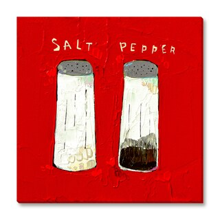 Gallery Direct Trevor Mikula's 'Salt n Pepper' Gallery Wrapped Canvas