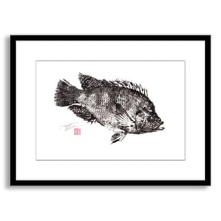 Gallery Direct Dwight Hwang's 'Tilapia I' Framed Paper Art