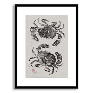 Gallery Direct Dwight Hwang's 'Rock Crabs' Framed Paper Art