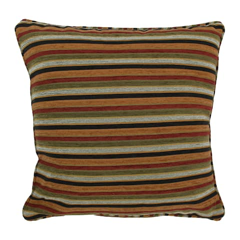 Blazing Needles 25-inch Cadillac Chenille Square Throw Pillow