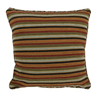Blazing Needles 25-inch 'Cadillac' Jacquard Chenille Square Throw Pillow with Insert
