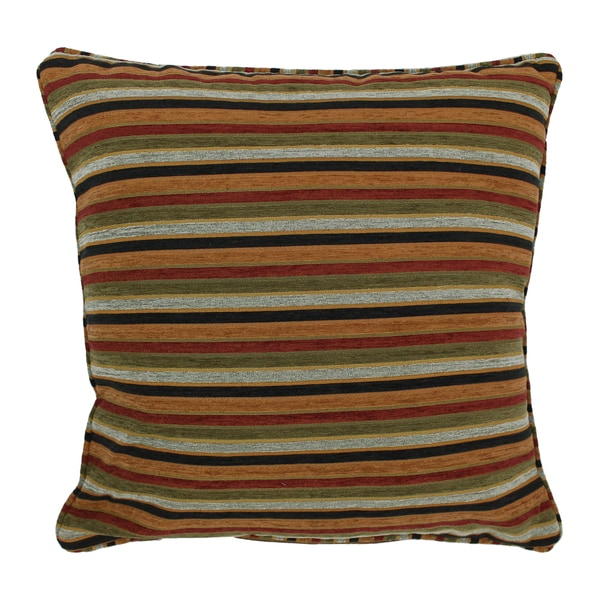 Blazing Needles 25-inch Cadillac Jacquard Chenille Square Floor Pillow with Insert - Free ...