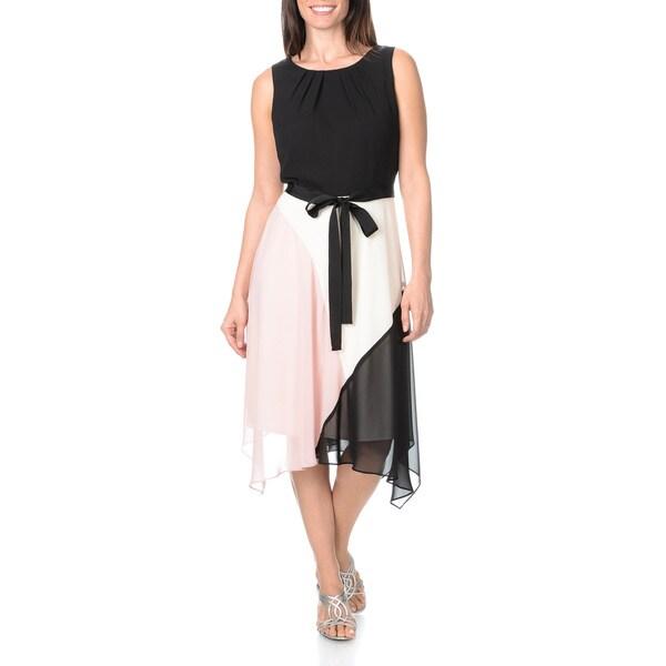Fashions Womens Colorblock Skirt Dress   16915179