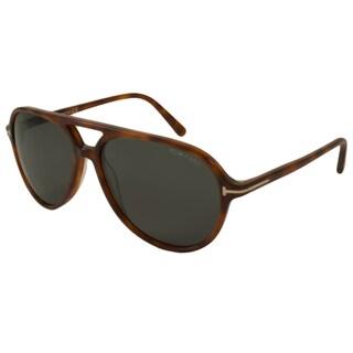 Tom Ford Men's TF0331 Jared Aviator Sunglasses