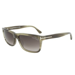 Tom Ford Men's TF0337 Hugh Rectangular Sunglasses