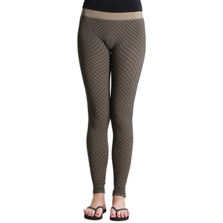 Nikibiki Textured Ankle Length Leggings