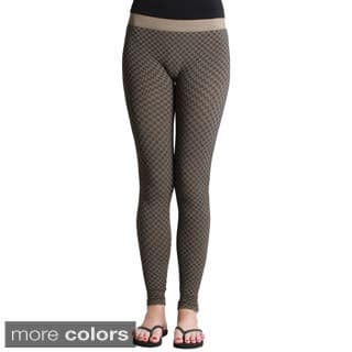 Nikibiki Textured Ankle Length Leggings|https://ak1.ostkcdn.com/images/products/9741296/P16915397.jpg?impolicy=medium