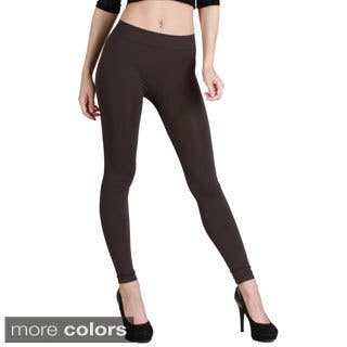 Nikibiki Women's Plain Jersey Ankle Length Leggings|https://ak1.ostkcdn.com/images/products/9741305/P16915392.jpg?impolicy=medium