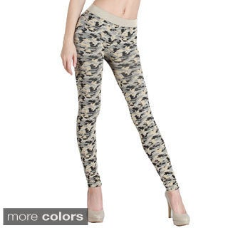 Nikibiki Camo Print Ankle Length Leggings