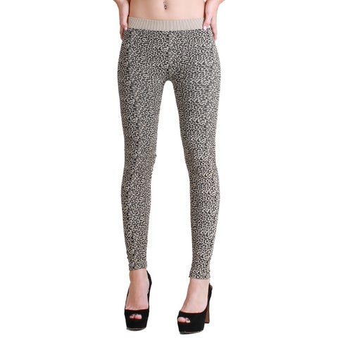 Nikibiki Cheetah Print Ankle Length Leggings