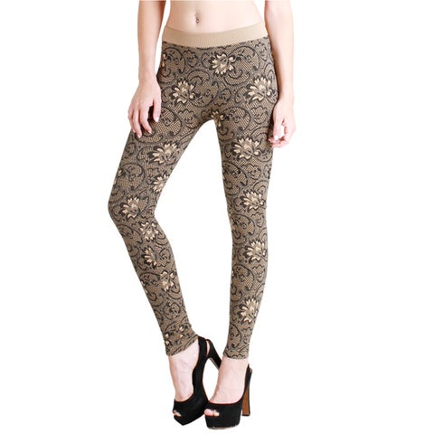 Nikibiki Women's Floral Zacarrdi Ankle Length Leggings
