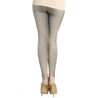 Nikibiki Women's Snake Skin Ankle Length Leggings