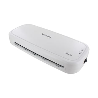 Fellowes 3-minute M1-95 9.5 Inch Laminator with Pouch Starter Kit