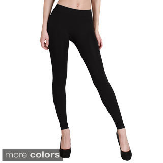 Nikibiki Solid Thick Ankle Length Leggings