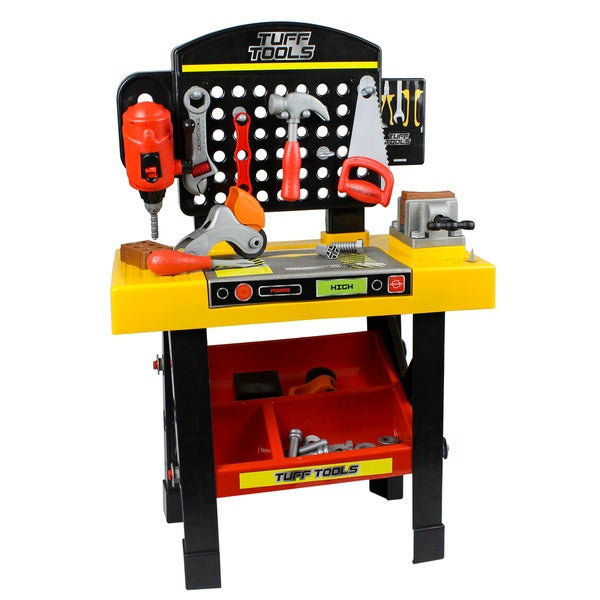 Kids Work Bench with Tools