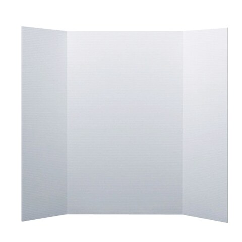 Flipside White Corrugated Project Board (Pack of 24)