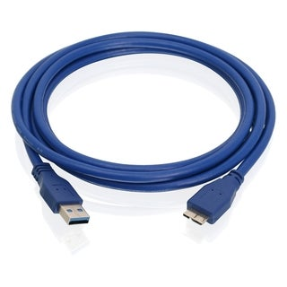 IOGEAR USB 3.0 Type A to Micro B Cable - 6.5ft (2m)