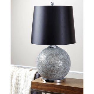 ABBYSON LIVING Mirrored Glass Hand-painted Table Lamp