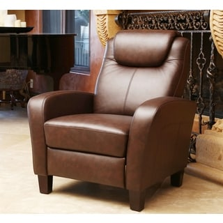 ABBYSON LIVING Abigail Top Grain Pushback Recliner