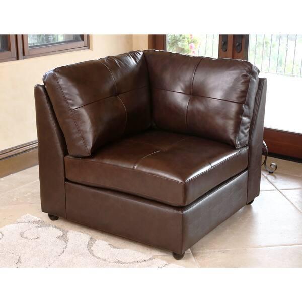 Awe Inspiring Shop Abbyson Living Cameron Top Grain Leather 5 Piece Unemploymentrelief Wooden Chair Designs For Living Room Unemploymentrelieforg