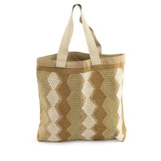 Handcrafted Cotton 'Modern Maya' Tote Handbag (Guatemala)