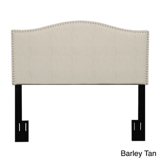 Gracewood Hollow Holly King/Cali King Upholstered Crescent-shaped Headboard