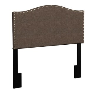 Portfolio Lucca King/ California King Upholstered Crescent Shaped Headboard