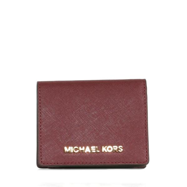 d1e7732b5d51 Shop MICHAEL Michael Kors Jet Set Travel Flap Card Holder - Free ...