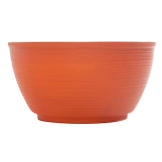 Bloem Dura Cotta Plant Bowl Tequila Sunrise Planter (Pack of 6)