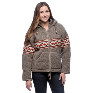 Laundromat Women's Norwegian Hooded Sweater