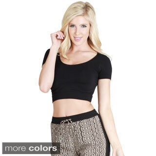 Nikibiki Seamless Short Sleeve Crop Top (One Size)