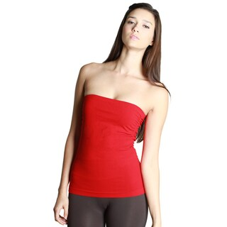 Nikibiki Women's Seamless Tube Top with Side Shirring (One size)