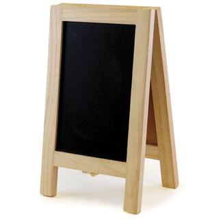 """Chalkboard/Cork Easel 4.375""""X7.375""""-"""