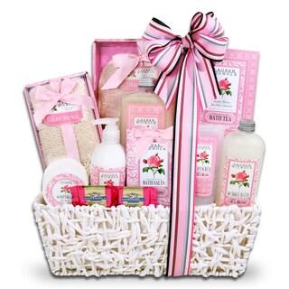 Alder Creek 12 Roses Spa Gift Basket