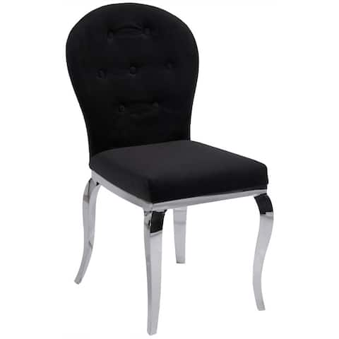 Somette Tabitha Microfiber Dining Chair (Set of 2)